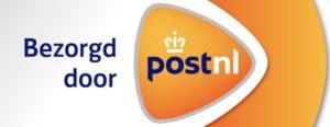 uw bestelling wordt met PostNL verstuurd.