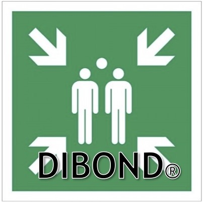 Verzamelplaats Dibond